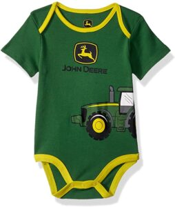 Body bebé John Deere