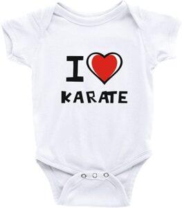 Body bebé Karate