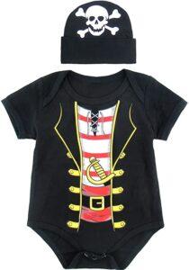 Body bebé Piratas